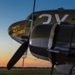 C-47 That's All Brother at Sunset