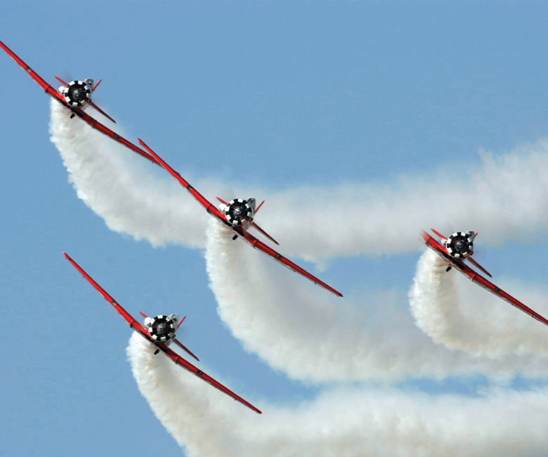 T-6s AeroShell Demo Team